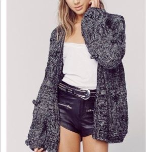 Chunky Knit Braided Cable Knitz Cardigan